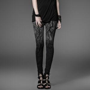 Black-Metal-Leggings-Punk-Rave-Gothic-Rock-Alternative-K-181