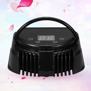 pro nail polish dryer lamp 64w uv led gel acrylic curing