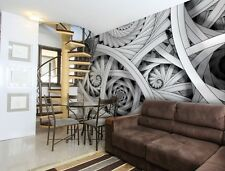 WALLPAPER MURAL PHOTO Swirls Abstract GIANT WALL DECOR PAPER POSTER FOR BEDROOM