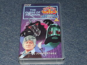 Doctor Who  THE CURSE OF PELADON VHS 2000 - <span itemprop=availableAtOrFrom>aberystwyth, Ceredigion, United Kingdom</span> - Doctor Who  THE CURSE OF PELADON VHS 2000 - aberystwyth, Ceredigion, United Kingdom