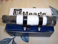 Meade 6x30mm White Crosshair Telescope Finder, Short Brkt