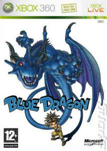 XBOX-360-GIOCO-Blue-Dragon-3-dischi-Xbox-Menta-veloce-One-1st-Class-consegna