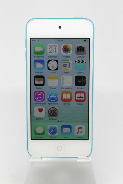 Refurbished Apple iPod touch iTouch 5th Generation Blue (32 GB) MD717LL/A