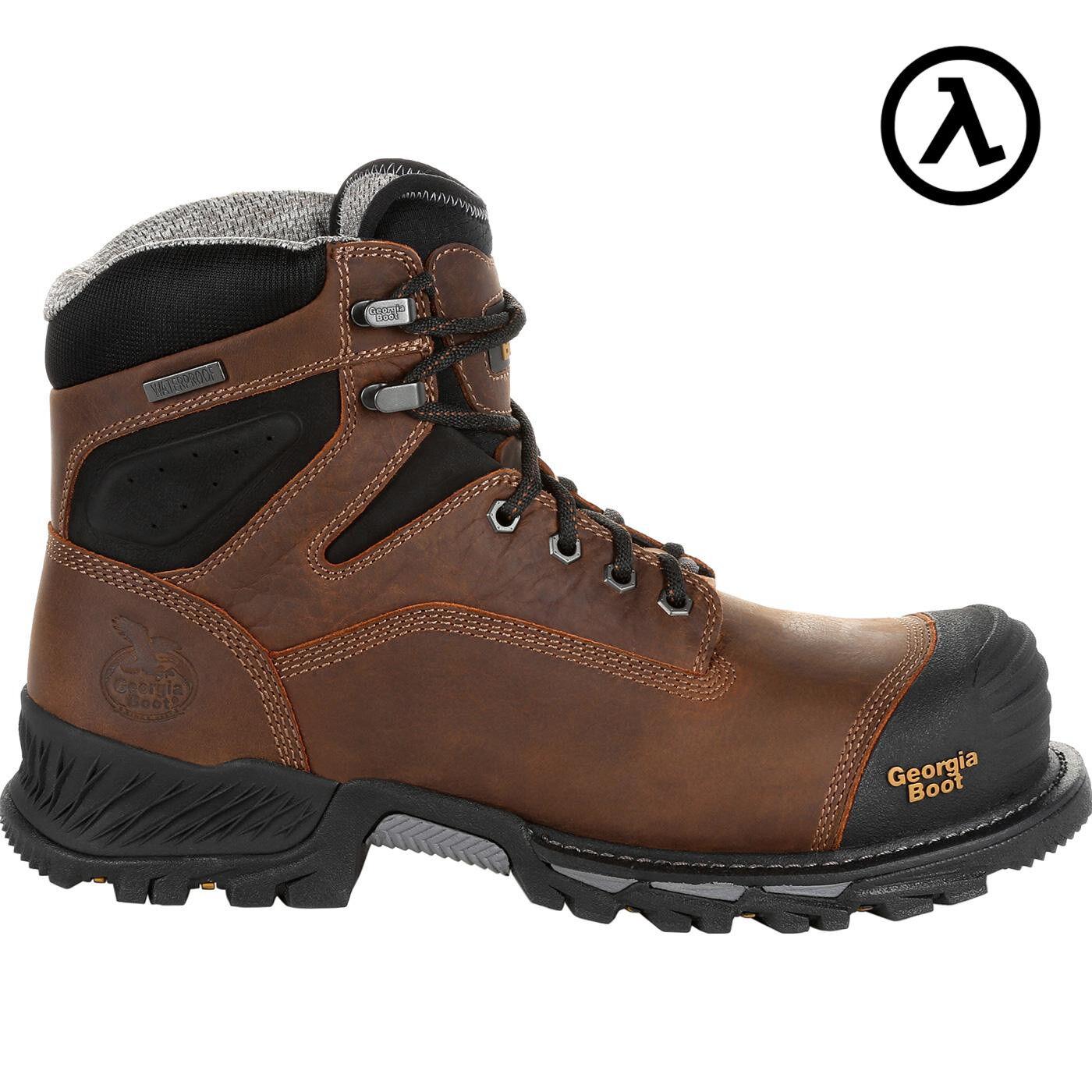 GEORGIA RUMBLER Composite Toe Impermeable botas De Trabajo GB00284  todos Los Tamaños-Nuevo
