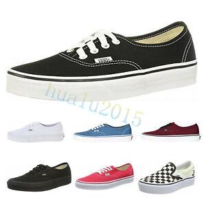 Neu-2019VANS-Klassiker-Schuhe-Sneaker-Skate-Klassisch-Schuhe-Unisex-EU35-44