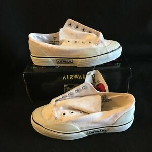 1d4075a412b0 NOS VINTAGE AIRWALK LUNA WHITE SIZE MENS 3.5 SKATEBOARDING SHOES