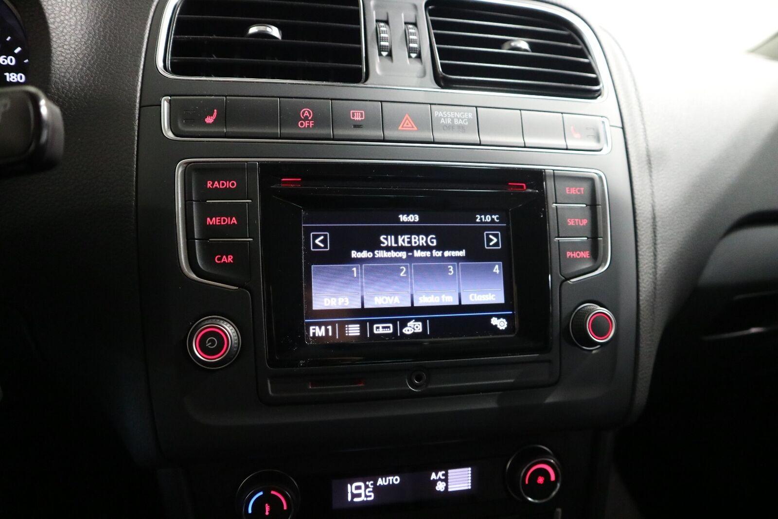 VW Polo 1,4 TDi 90 Comfortline BMT - billede 8