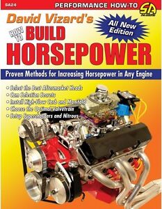 Details about How to Build Horsepower PERFORMANCE ENGINE RACING MODS  WORKSHOP REPAIR MANUAL