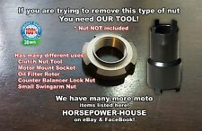 CLUTCH LOCK NUT SPANNER SOCKET @ HONDA CRF230 CMX250 CB250 XR250R XR250L NX250 +