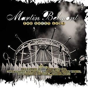 MARTIN-BELMONT-Guest-List-Graham-Parker-Geraint-Watkins-Paul-Carrack-Nick-Lowe