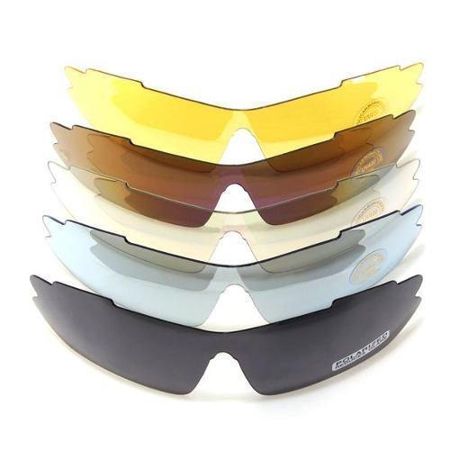 Premium PRO Tactical Range Shooting Glasses Kit Great GIFT for KGB Special Opps