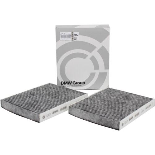 Bmw original espacio interior filtro filtro de polen filtro de carbón activado frase 64119272642