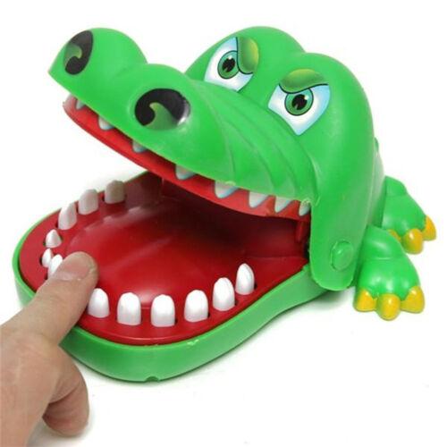 Gift For Children Funny Gags Dentist Bite Finger Game Joke Crocodile Toy