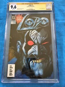 Lobo-1-1990-DC-CGC-SS-9-6-NM-Signed-by-Keith-Giffen