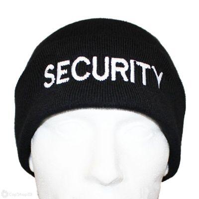 SECURITY BOB HAT DOORMAN BOUNCER WORK GUARD BEANIE