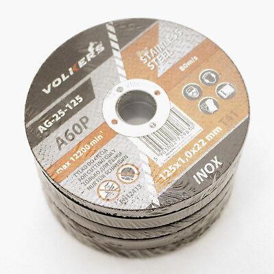 50 Stück INOX Trennscheibe Ø 180 x 22,2 x 1,6 mm Stahl Edelstahl Metal