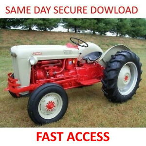1953-1959-FORD-NAA-Tractor-Service-Manuals-600-601-800-801-2000-4000-FAST-ACCESS