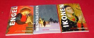 ANACONDA 3 Kunstpostkarten-Sets mit je 14 Karten - Ikonen - Engel - Weihnachten