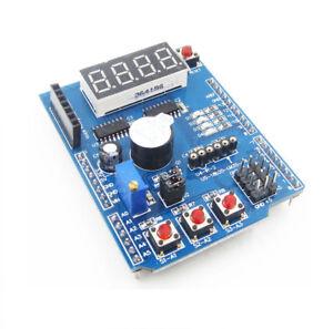 Multi-Function-Shield-with-Buzzer-LM35-4LED-for-Arduino-UNO-R3-Lenardo-Mega2560