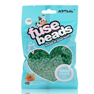 Fuse Beads Sammlung Hier Artkal 1000 Midi Bügelperlen 5mm Green Tea S62 Basteln & Kreativität