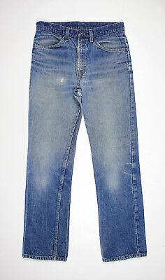 Iniziativa Vtg 1970's Levis 519 0217 Orange Tab Jeans W32 L30 - Made In Usa