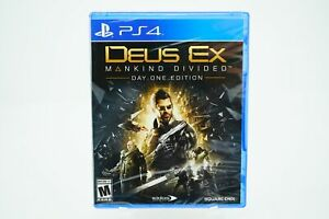 Deus-Ex-Mankind-Divided-Day-One-Edition-Playstation-4-Brand-New-PS4