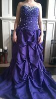 Purple, Size 6, Prom, Formal, Evening, Pageant, Ball Gown, Dress