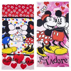 Filles Officiel Minnie Mouse Bain Plage Vacances Bain Coton Serviette