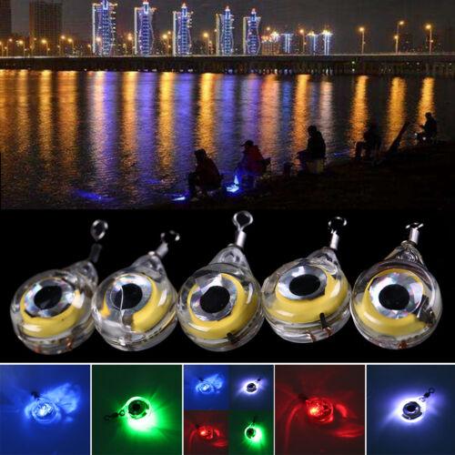 Unterwasserfisch-Attraktion-Lampe locken grüne LED blinkende Fische LightZAB