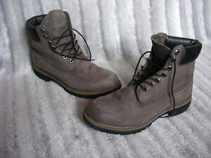 Eu cuero 6 de 9 hombre Uk Timberland 2 6609a gris 43 1 para botines 5 pulgadas premium H7cqT