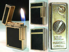Briquet Ancien # KBL Throne Laque # Vintage gas Lighter  Feuerzeug  accendino