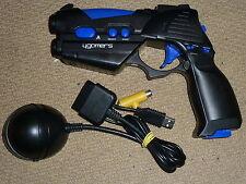 SONY PLAYSTATION 2 PS2 WIRELESS G-Con LIGHT GUN BLASTER PISTOL CONTROLLER Black