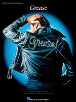 Grease Sheet Music Easy Piano Vocal Selections 000385012
