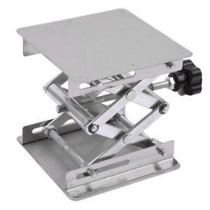 100MM-100MM-Aluminum-Lifting-Platforms-Stand-Rack-Scissor-Lab-Jack-Durable