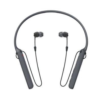 Regno Sony NECKBAND C400 ear WI in Cuffie Wireless Mic Con Nero Telecomando Unito PBn6qOP
