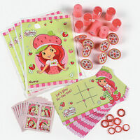 Strawberry Shortcake Dolls Favor Pack (48pc) Birthday Party Supplies Toys Pink