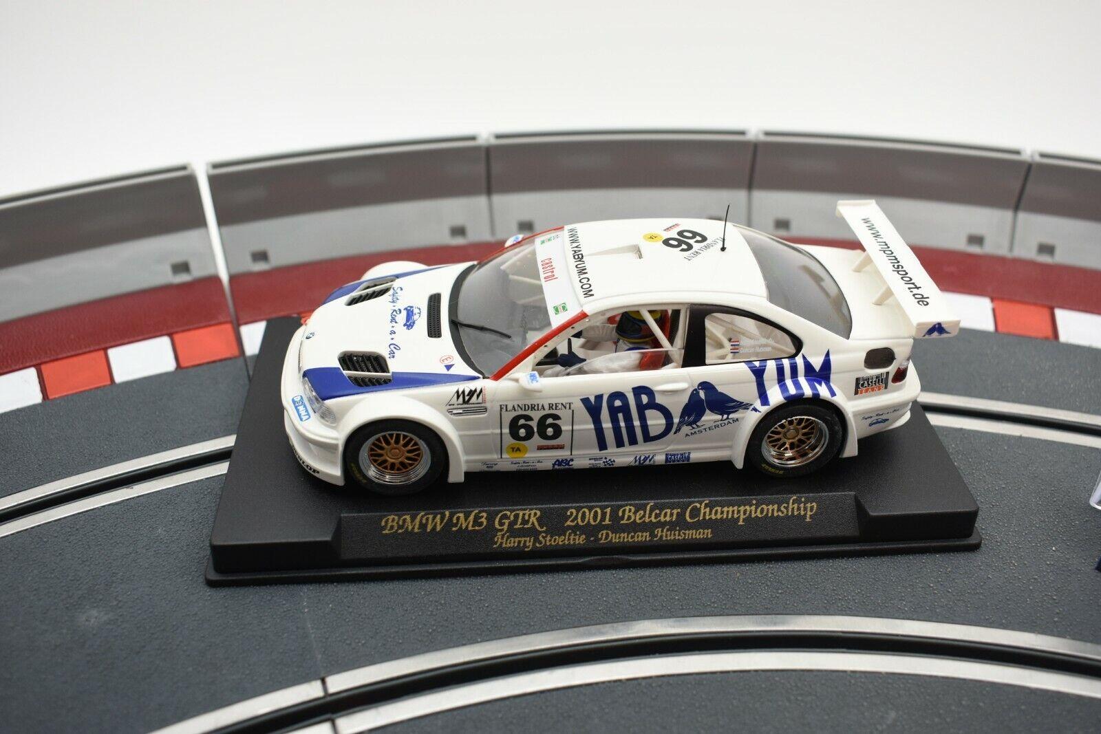 88013 FLY CAR MODELS 1 32 SLOT CARS BMW M3 GTR 2001 BELCAR CHAMPIONSHIP A 286