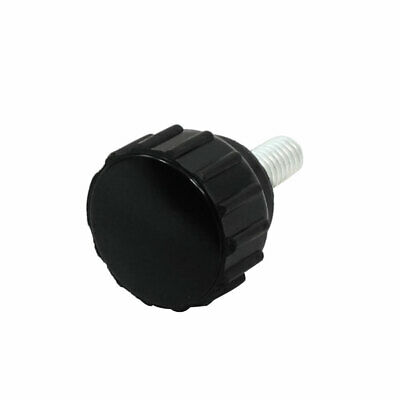 4mm Diameter Female Thread Thumbscrew Grip Clamping Knob Black