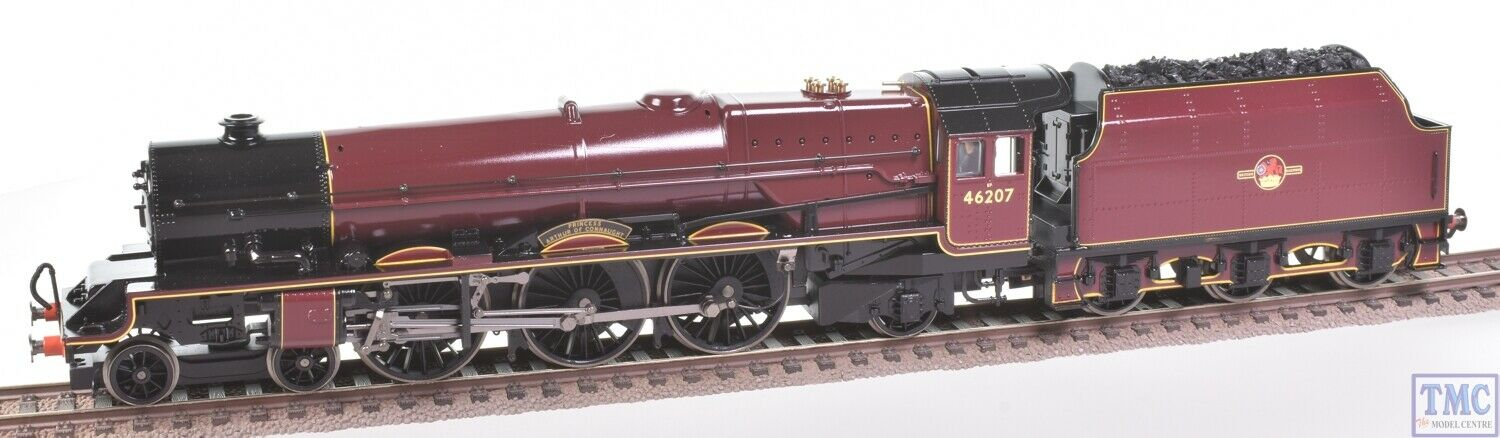R2447 Hornby OO Princess Arthur of Connaught 46207 Coal Crew & Glossed(PreOwned)