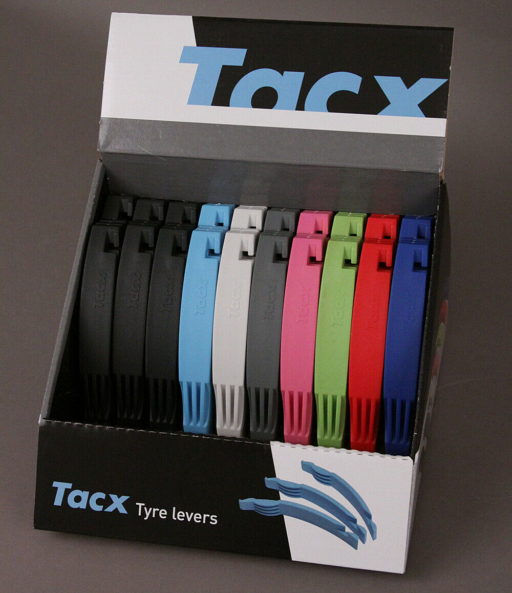 TACX  Display Tire Removal Levers bicycle tire tools Box of 20 Sets of Three  hot sales