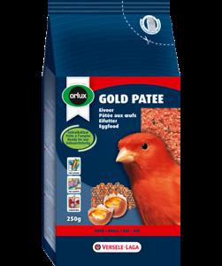 Orlux Doré Patee Canaries Rouge, 250 G Couleurs Harmonieuses