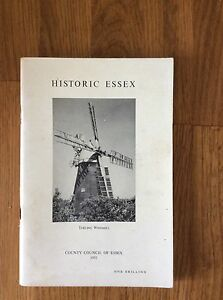 Historic-Essex-By-County-Council-1951-Rare-Vintage-Guide