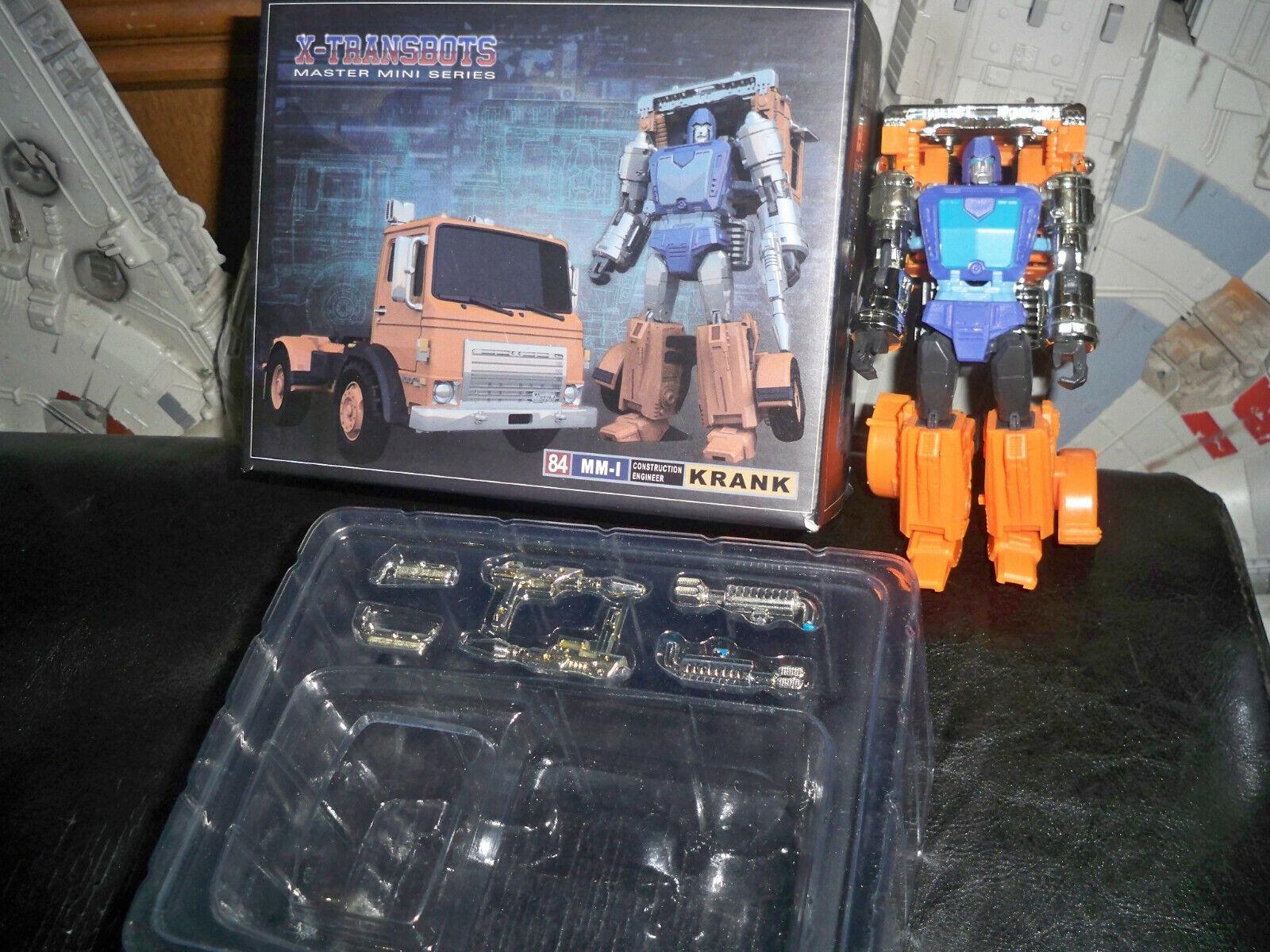 Xtransbots XTB HUFFER KRANK TERZO Transformers RARO