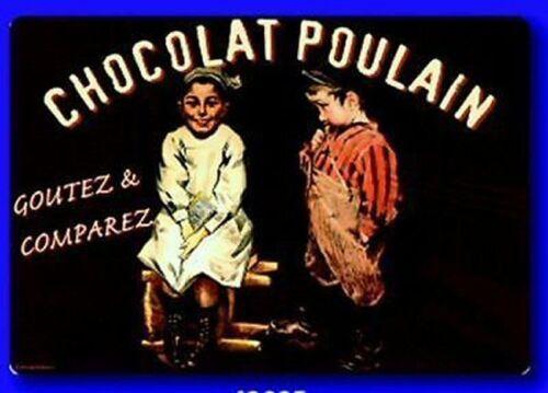 SET DE TABLE PUB RETRO CHOCOLAT POULAIN GOUTEZ