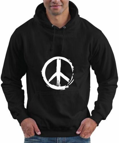 CND Ban The Bomb Retro Cult  Hoodie Hooded Top Peace Symbol