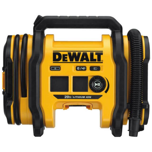 DCC020IB arctic-tools DEWALT DCC020IB 20V High-Pressure Corded/Cordless Air Inflator - Bare Tool - NEW
