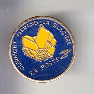RARE-PINS-PIN-039-S-PTT-LA-POSTE-FRANCE-TELECOM-LA-GLACIERE-CLERMONT-FERRAND-BT