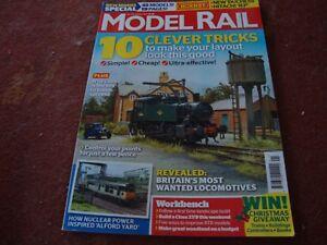 2019 DernièRe Conception Model Rail Magazine No 230 January 2017 Acheter Maintenant