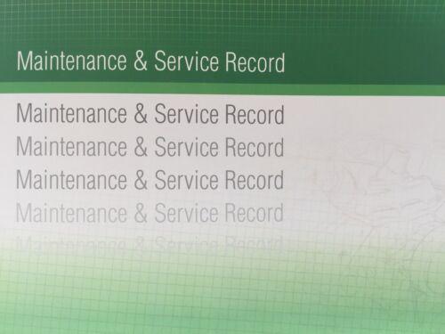 Mercedes Generic Replacement Car Service History Book New Handbook Blank G