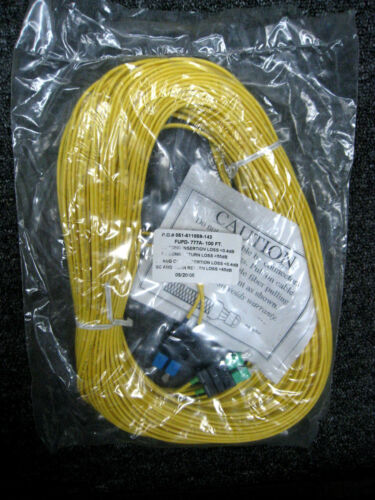 FUPD-777A-100 Ft Fiber Optic NEW Corning Optical Cable 051-611859-143
